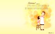 新浪邮箱2011年5月壁纸:温馨母亲节