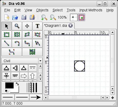 流程图绘制软件 Dia for Mac 0.97.2