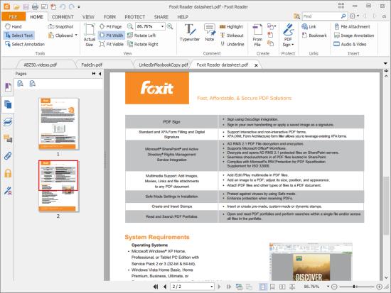 福昕PDF阅读器 Foxit Reader for Mac 3.0.1.1116