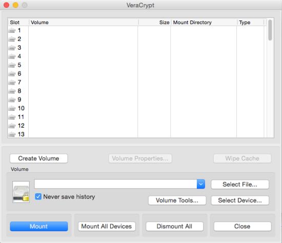 分区加密软件 VeraCrypt for Mac 1.17