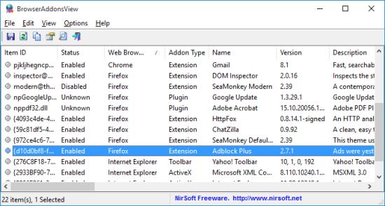 BrowserAddonsView 1.00