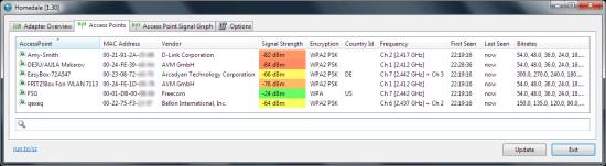 无线网络信号强度检测 Homedale for macOS 1.02