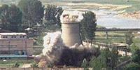 朝鲜2008年炸毁核设施