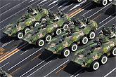 轮式步兵战车方队