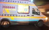 救护车驶向医院