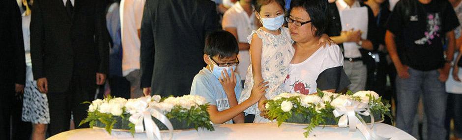 在菲律宾遇害者遗体抵达香港