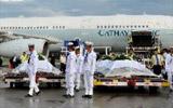 菲律宾海军仪仗队护送
