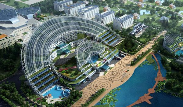 微排大厦:太阳能综合利用建筑标本