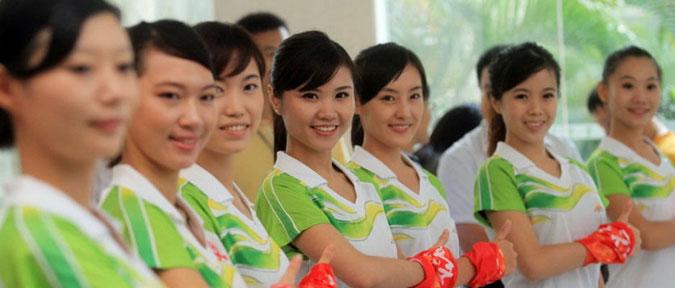 广州亚运会暨南大学志愿者风采