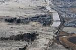 13英尺海啸冲击日本沿海地带