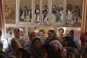 金奖:阿富汗选举