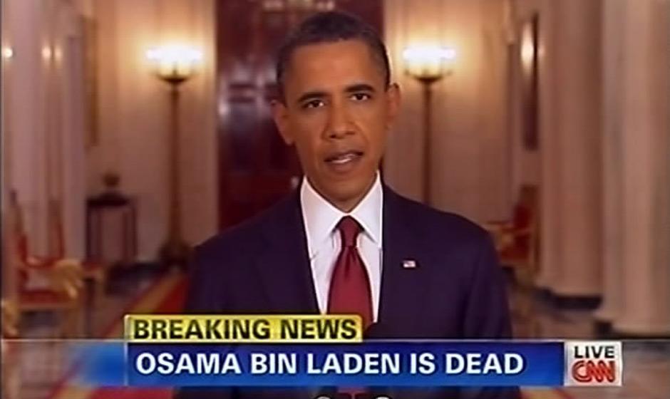 奥巴马宣布拉登死亡