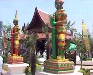 星主播探泰国展园