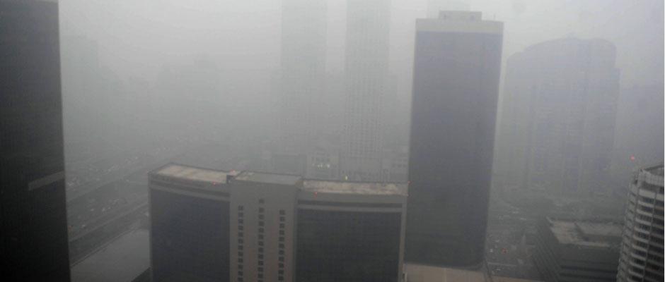 北京大雾持续
