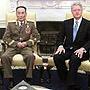 2000年10月朝鲜国防委员会第一副委员长赵明录访美