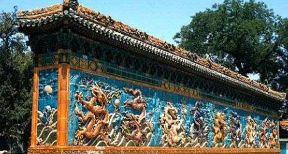故宫博物院里的九龙壁