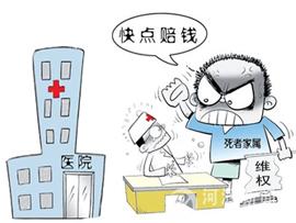 医闹围堵打砸医院被拘