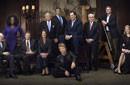 美国12名顶级富豪拍合影登福布斯杂志封面