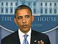 奥巴马针对飓风桑迪发表全国讲话