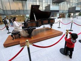 医院内设700万钢琴 豪华医院似星级酒店[多图]