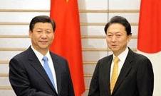 2009年 习近平访日会见日本首相