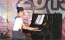 韩坠机事故遇难女生叶梦圆生前弹钢琴片段