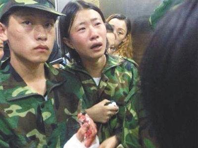 湖南军训教官与师生冲突42伤 目击者讲述事发