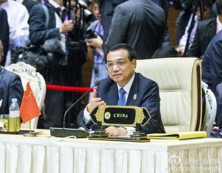 李克强会见缅甸议会议长:支持缅民族和解进程
