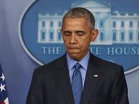 奥巴马已为枪案12次讲话 美媒:总统已绝望