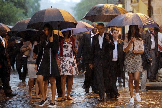 奥巴马终于来古巴 老卡斯特罗为何不见?