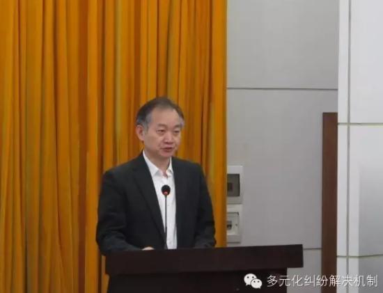 最高人民法院司法改革办公室主任胡仕浩