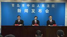青岛中院举行知识产权司法保护新闻发布会