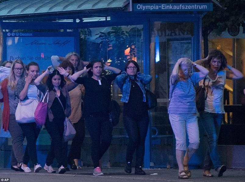 慕尼黑警方:枪击案已致10人死亡 包括枪手本人