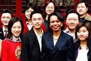 2005年 赖斯访问亚洲六国