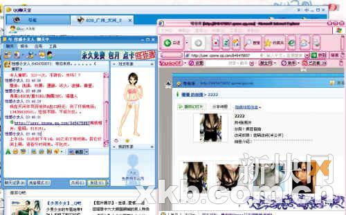 """QQ聊天室成""""小姐""""招嫖地"""