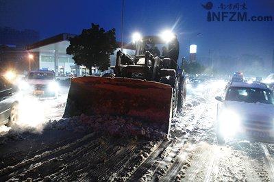 记者直击湖南冰雪五日:危机在城市蔓延