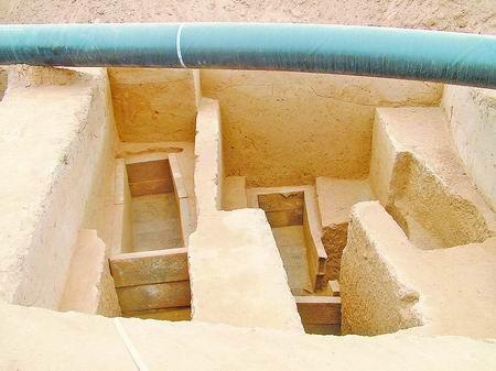 千年汉墓群今朝露真容 在新密曲梁发掘出的古