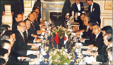 资料:中日联合宣言(1998年11月26日)