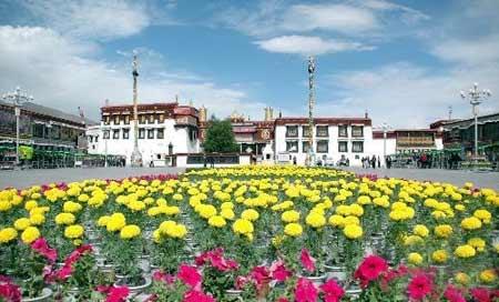 拉萨大昭寺今起恢复向公众开放