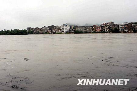 广西广东湖南江西部分地区将出现大暴雨(图)