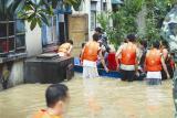 湖北襄樊遭遇450年一遇特大暴雨