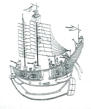 福船是中国古代四大名船之一.