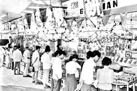 图文:国营副食品商店月饼展销
