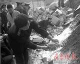 青岛销毁8吨毒奶粉 与煤混合用于供热