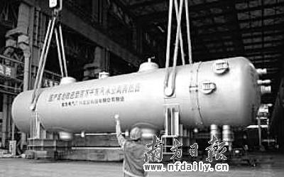 标志着东方重机率先在我国掌握了百万千瓦级汽水分离再热器的核心制造