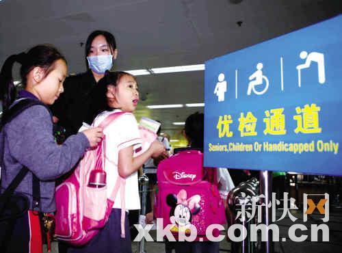 广州甲型流感患者有望22日晚出院