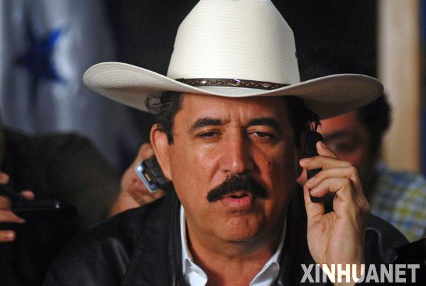 洪都拉斯临时外长称被罢免总统无权决定回国