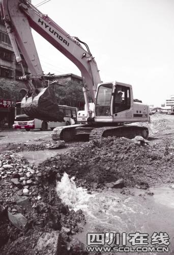 四川宜宾同一施工方8次挖断天然气管道