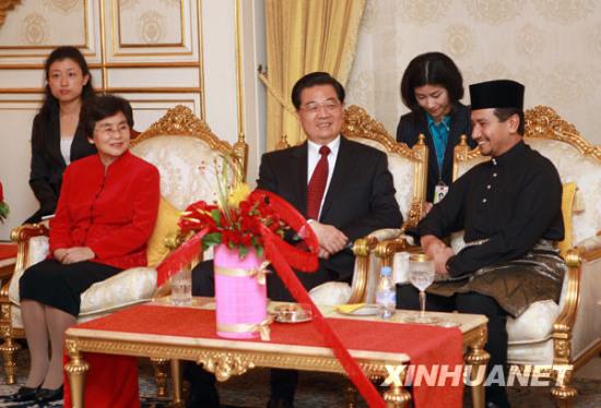 中马元首就深化两国合作达成共识(图)