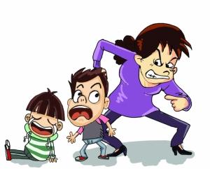 孩子被扇耳光,家长该不该动怒?